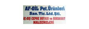AF- OİL / Afyon Sultandağı Hırdavat & Nalburiye  / Açık Yağ & Boya
